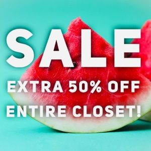 SALE Take an extra 50% off everything!